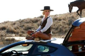 This photo released by Twentieth Century Fox shows Cameron Diaz as Malkina in the film, The Counselor.