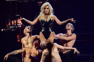 Ke$ha performs at the IHeartRadio Music Festival, in Las Vegas in September.