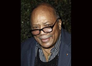 A file photo of music producer Quincy Jones.