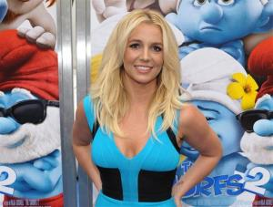 In this July 28, 2013 file photo, singer Britney Spears arrives to the world premiere of The Smurfs 2 in Los Angeles.