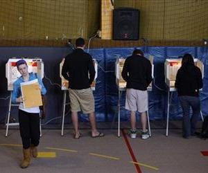 Voters cast ballots in Colorado in this 2008 file photo.