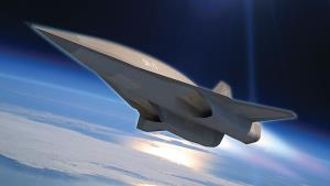 A Lockheed Martin image of the planned plane.