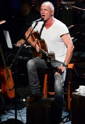 Sting: Talks a good game about being eco-friendly, but has his own private jet.