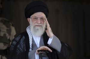 Supreme Leader Ayatollah Ali Khamenei.