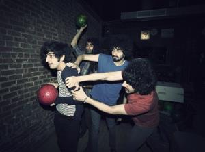 This 2012 photo shows Yellow Dogs band members, from left, Koroush Koory Mirzaei, Siavash Karampour, Arash Farazmand and Soroush Farazmand at The Gutter in the Brooklyn borough of New York.