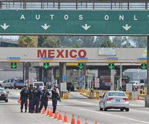 The San Ysidro Port of Entry in San Diego. Kathy Amaya received a call from San Diego Border Patrol.