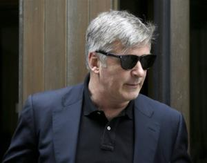 Actor Alec Baldwin leaves criminal court in New York, Tuesday, Nov. 12, 2013.