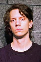 Jeremy Hammond in a police photo.