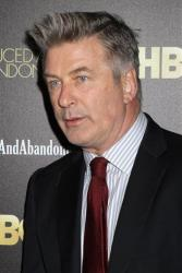 \In this Oct. 24, 2013 file photo, producer and actor Alec Baldwin attends the HBO premiere of Seduced and Abandoned at The Time Warner Center in New York.