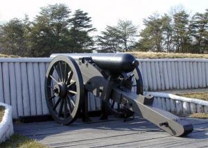 File photo of a Civil War replica cannon.