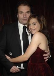 In this Nov. 1, 2007 file photo, Actress Brittany Murphy, right, and husband, writer Simon Monjack, left, at the BAFTA/LA Cunard Britannia Awards in Los Angeles.