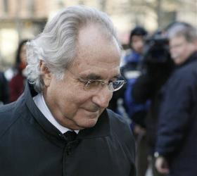 In this Jan. 14, 2009 file photo, Bernard Madoff arrives at Federal Court in New York.