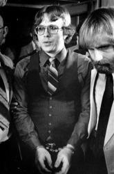 In this June 2, 1981photo, Joseph Paul Franklin is shown following his conviction on two counts of first degree murder in Salt Lake City.
