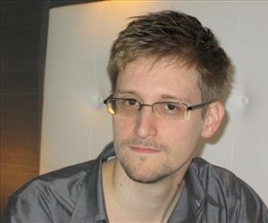 This image made available by the Guardian shows an undated image of Edward Snowden.