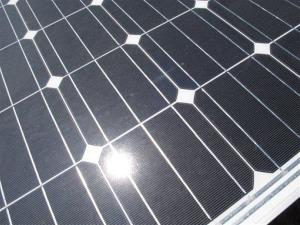 Solar panels might need a little reorientation.