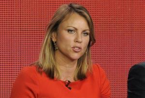 60 Minutes reporter Lara Logan.