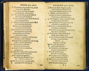The Puritans wanted a version of the Book of Psalms that was a closer paraphrase of the Hebrew original than the one they had carried from England.