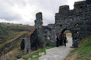 Ardrey says Tintagel Castle, on the coast of southwestern England, isn't home to King Arthur's Camelot.
