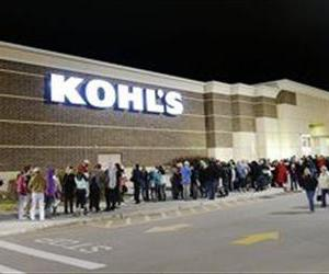 Hundreds wait in line Thursday, Nov. 28, 2013 at Kohl's in American Fork, Utah for an early Black Friday opening. The crime in question happened in Romeoville, Ill.