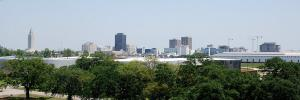 The Baton Rouge skyline.