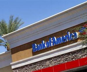 A Bank of America branch in Gilbert, Ariz.