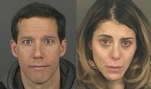 Aron Ralston and Vita Shannon, in photos provided by the Denver Police.