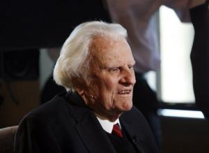 Billy Graham in 2010.