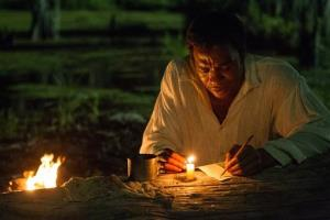 This image released by Fox Searchlight shows Chiwetel Ejiofor in a scene from 12 Years A Slave.