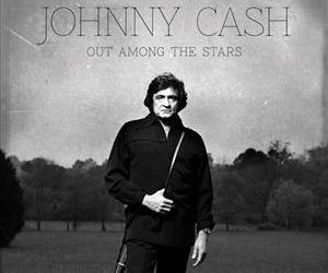 This photo provided by Columbia/Legacy shows the Johnny Cash album cover for Out Among the Stars, releasing March 25, 2014.