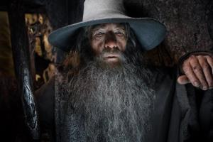 This image released by Warner Bros. Pictures shows Ian McKellen in a scene from The Hobbit: The Desolation of Smaug.