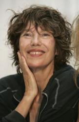 British-born actress Jane Birkin smiles at a press conference during the Rio de Janeiro International Film Festival 2007, Monday, Oct. 1, 2007.