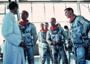 This undated handout image provided by the Library of Congress shows a scene from the movie 'The Right Stuff.'
