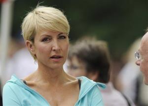 In this Sunday, June 27, 2010 file photo Heather Mills attends the Achilles Hope and Possibility Race in New York's Central Park.