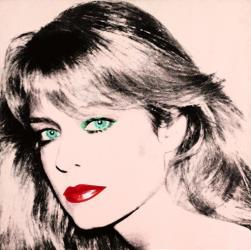 Andy Warhol's painting of Farrah Fawcett.