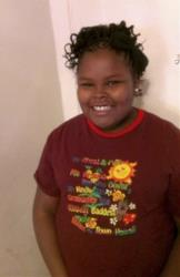 This undated photo provided by the McMath family and Omari Sealey shows Jahi McMath.