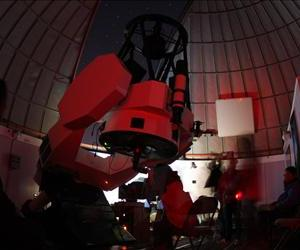 The Schulman Telescope is seen at the Mount Lemmon SkyCenter at the University of Arizona.