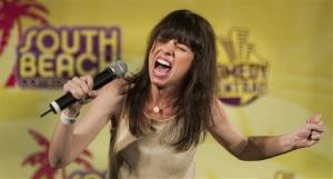 In this publicity image released by the South Beach Comedy Festival, comedian Natasha Leggero performs in 2010.