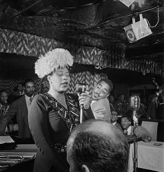 Ella Fitzgerald, who was known for her perfect pitch.