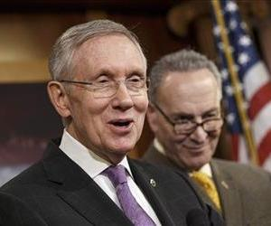 Harry Reid and Chuck Schumer are seen in this file photo.