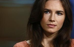 This image released by NBC shows Amanda Knox during an interview on the Today show, Friday, Sept. 20, 2013, in New York.
