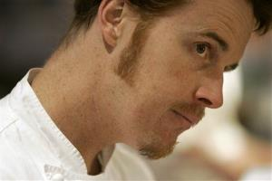 Chef Grant Achatz of Alinea in a 2008 photo.