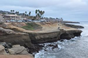 File photo of Sunset Cliffs at Point Loma near San Diego.