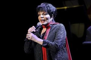 In this March 1, 2013 file photo, U.S singer Liza Minnelli performs at the Royal Festival Hall in London.