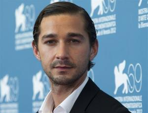 In the Sept. 6, 2012, file photo, actor Shia LaBeouf poses at the 69th edition of the Venice Film Festival in Venice, Italy.
