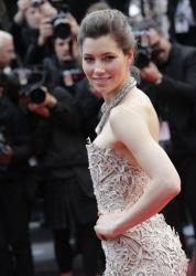 This May 19, 2013 file photo shows actress Jessica Biel at the screening of the film Inside Llewyn Davis at the 66th international film festival, in Cannes, southern France.