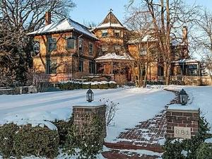 The home of 'Old Man Marley,' in Winnetka, Ill., is for sale.