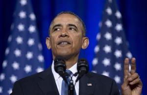 President Obama speaks about the National Security Agency last week.