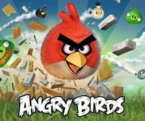 This undated image released by Rovio shows a poster of the company's Angry Birds app.