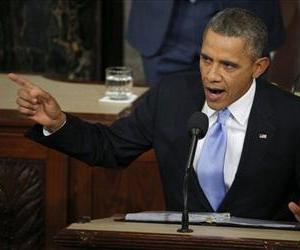 President Barack Obama delivers his State of the Union address on Capitol Hill in Washington, Tuesday Jan. 28, 2014.