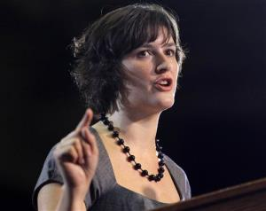 Sandra Fluke in a 2012 file photo.